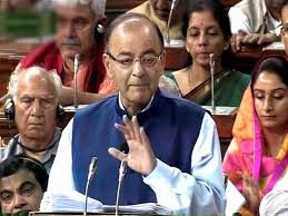 Jaitley in parliament