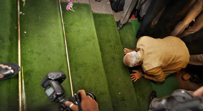 Modi parliament 2014