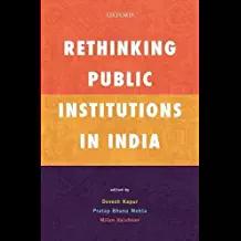 Rethnking Pub Inst in India