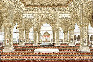 Delhi throne