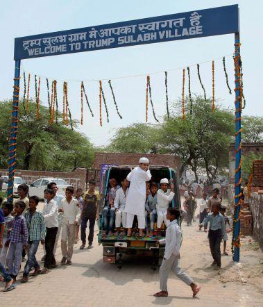 Trump Village unveiled in Haryana