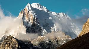 smoggy Himalayas