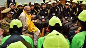 Modi children Sikkim