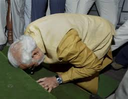 Modi in Parliament
