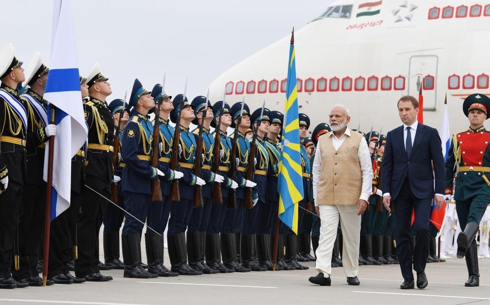 PM Modi Russia