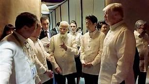 Modi with Trump
